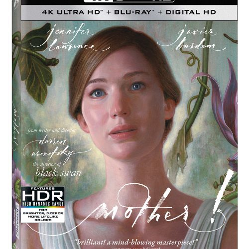 mother! coming to 4K Ultra HD and Blu-ray on December 19