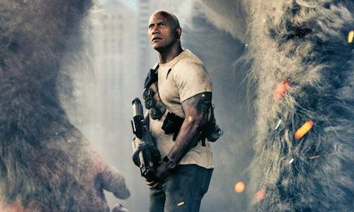 Chaos reigns in first trailer for Dwayne Johnson's Rampage