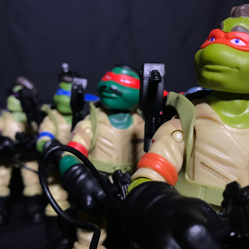 Teenage Mutant Ninja Turtles Ninja Ghostbusters (review)