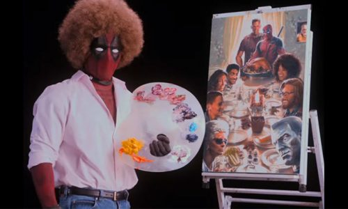 Learn how to paint with the new Deadpool 2 teaser