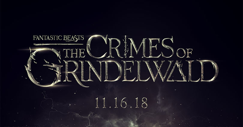 Fantastic Beasts: The Crimes of Grindelwald Title Treatment