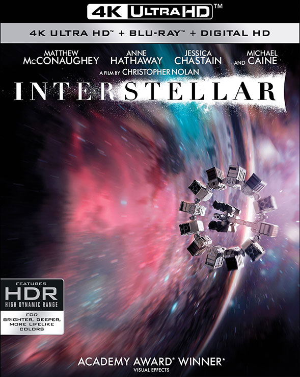 Interstellar 4K Ultra HD Blu-ray Cover