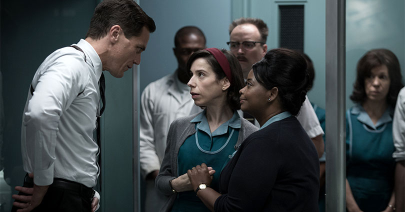 The Shape of Water - Michael Shannon, Sally Hawkins, and Octavia Spencer