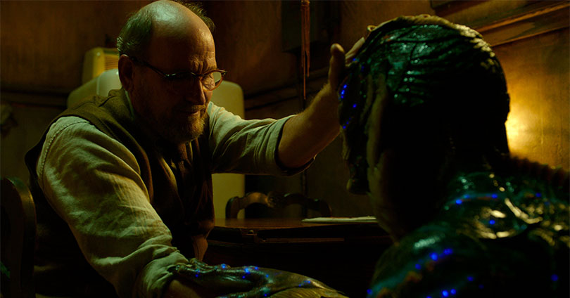 The Shape of Water - Richard Jenkins and Doug Jones
