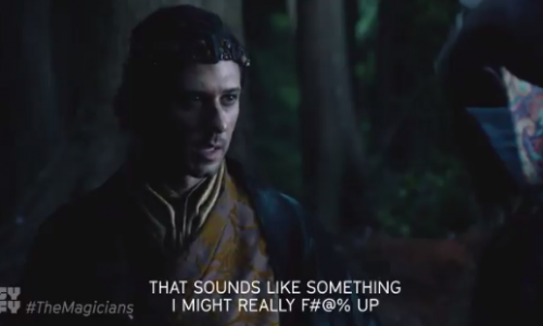 SyFy's The Magicians are back for a quest!