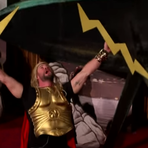 Thor: Ragnarok goes 4D with The Late Late Show with James Corden
