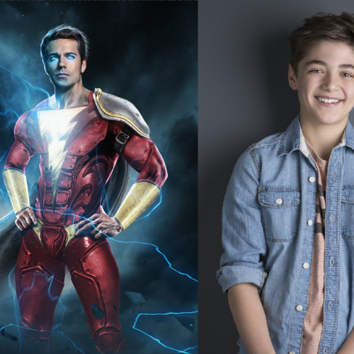 Asher Angel cast for Billy Batson in Shazam