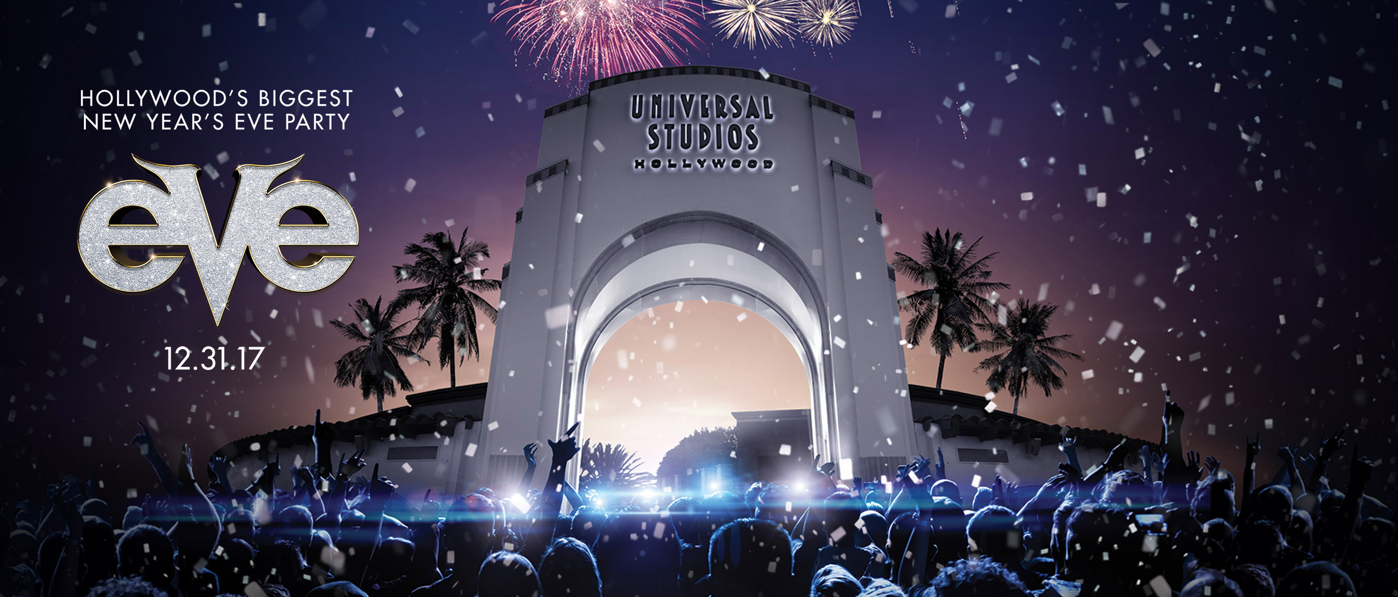Universal Studios Hollywood new years eve