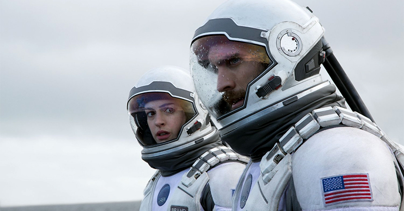 Interstellar - Anne Hathaway and Wes Bentley