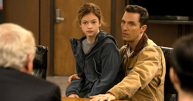 Interstellar - Mackenzie Foy and Matthew McConaughey