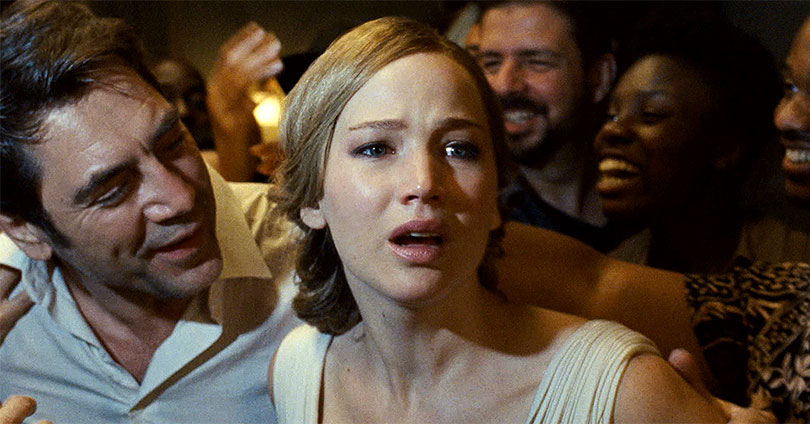 Mother! - Javier Bardem and Jennifer Lawrence
