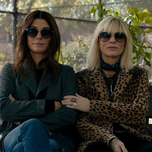 Sandra Bullock's crew assembles in the first Ocean's 8 trailer
