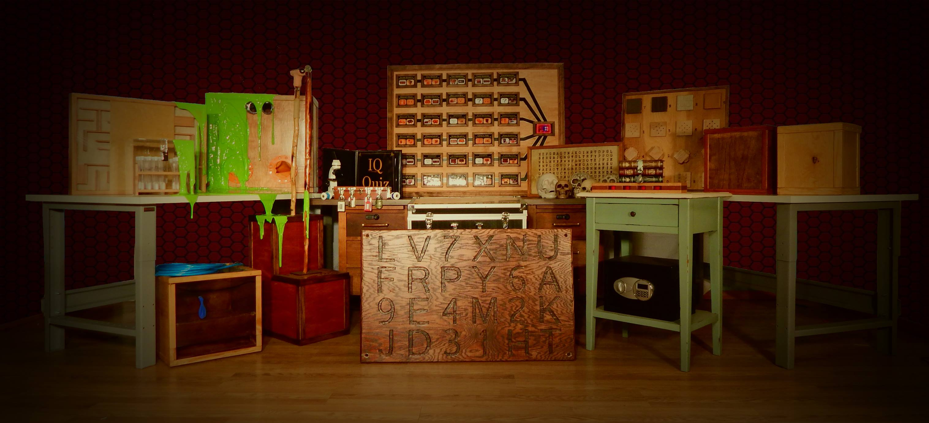 The laboratory escape room features ingenious puzzles for Small room escape 12