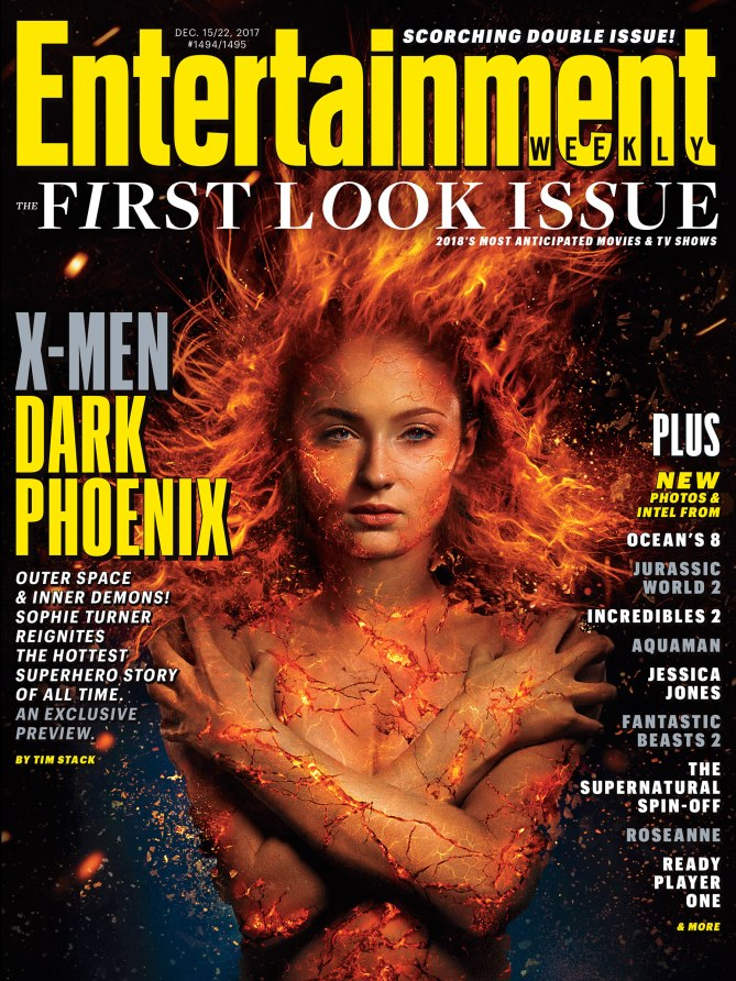 X-Men: Dark Phoenix - EW Cover