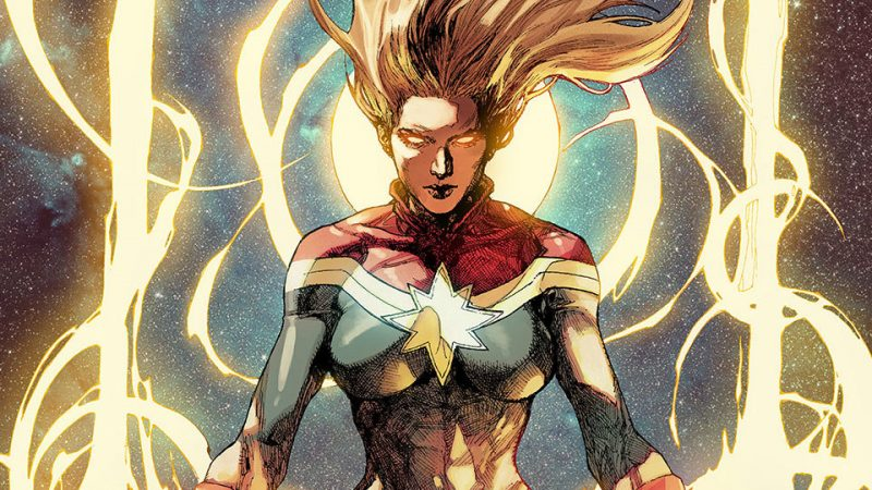 Brie Larson's shock Captain Marvel first look has some questioning: Why teal?