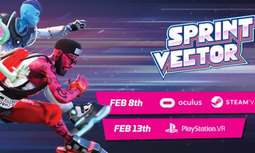 Sprint Vector coming to PlayStation VR, Rift and Vive in February