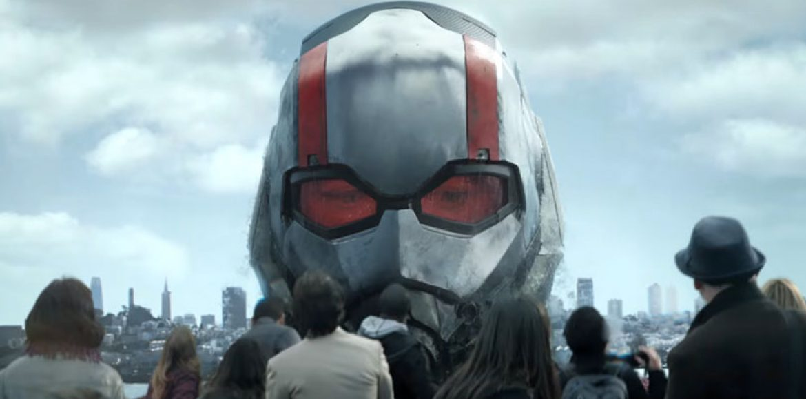 Time to shrink once again with the new Ant-Man and The Wasp trailer