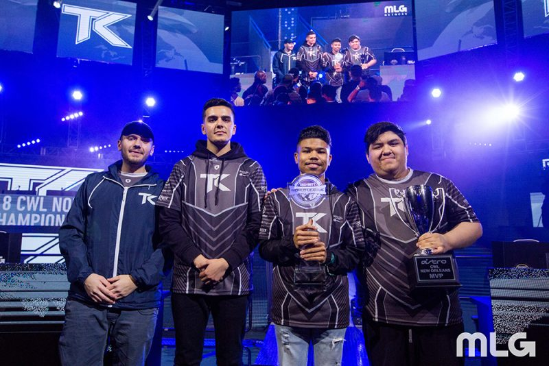 cwl new orleans team kaliber