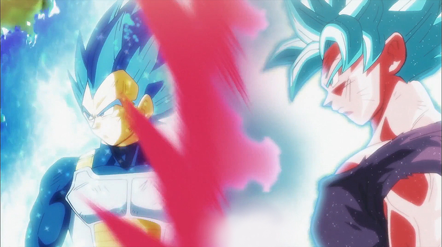 The Last We See Vegeta Is Near Motionless With His Eyes Wide Open After Massive Attack He Just Sustained Preview For Episode 123 Gives A Good Look