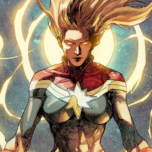 Our first glimpse at Brie Larson's Captain Marvel