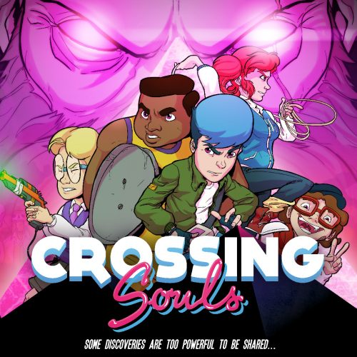 Crossing Souls, the '80s retro game, now available on PC and PS4