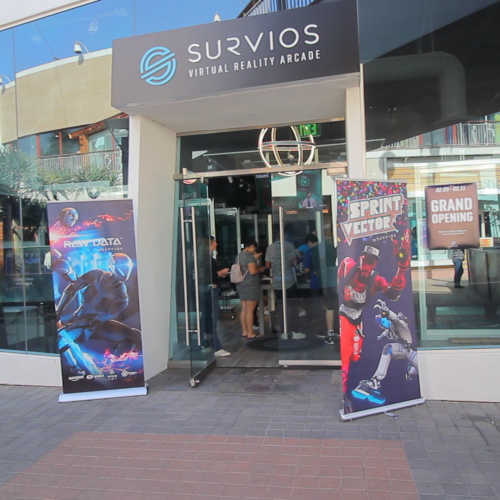 Survios VR Arcade is now open in LA