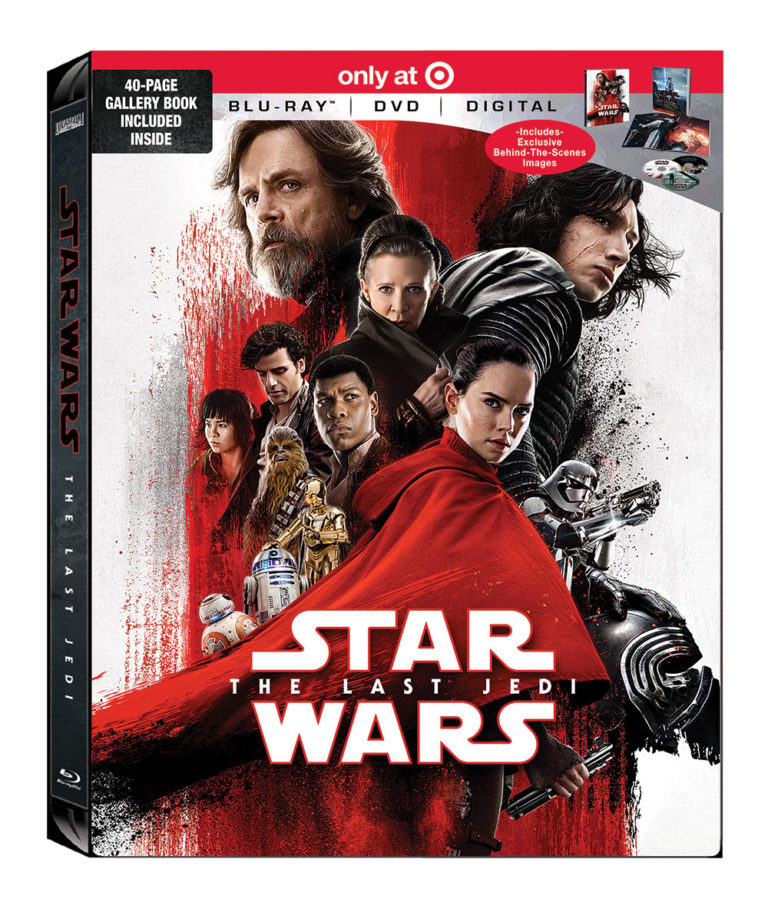 Star Wars: The Last Jedi Target Exclusive Cover