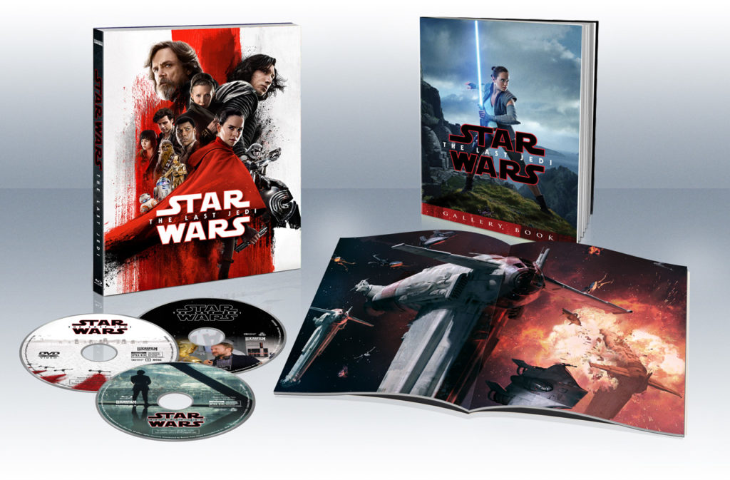 Star Wars: The Last Jedi Target Exclusive Inside
