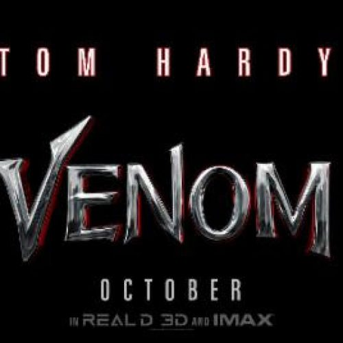 Venom movie poster revealed, captures comic book title