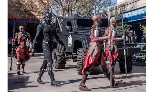 Come see Black Panther in person at Disney California Adventure