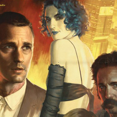Netflix's 'Mute' poster gets the film-noir treatment