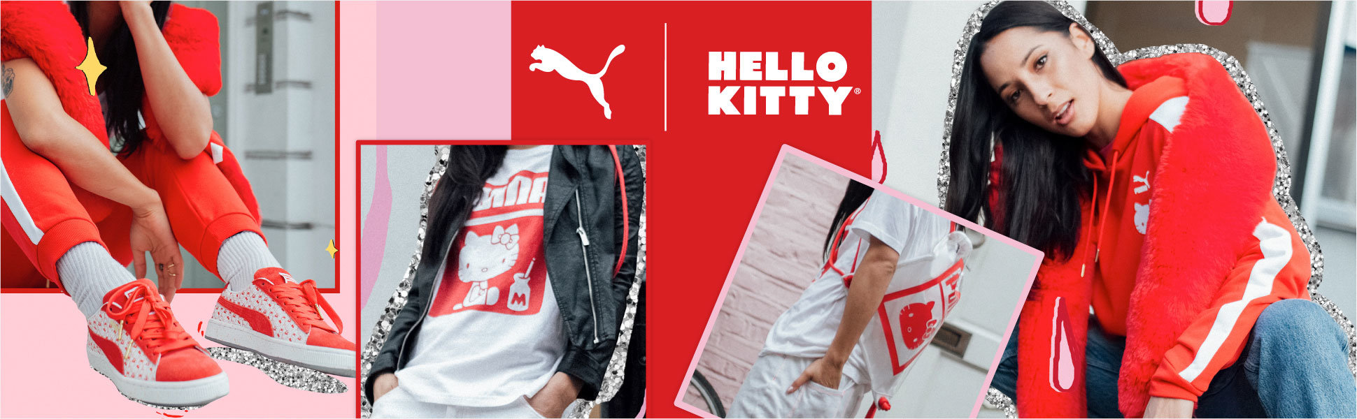 promo code c8847 a2c1f Hello Kitty teams up with Puma for new fashion line - Nerd ...