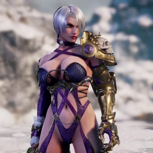 Ivy is back with her revealing outfit for Soulcalibur VI