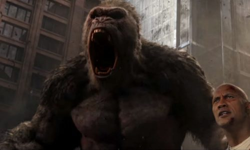It's The Rock vs. giant monsters in the latest Rampage trailer