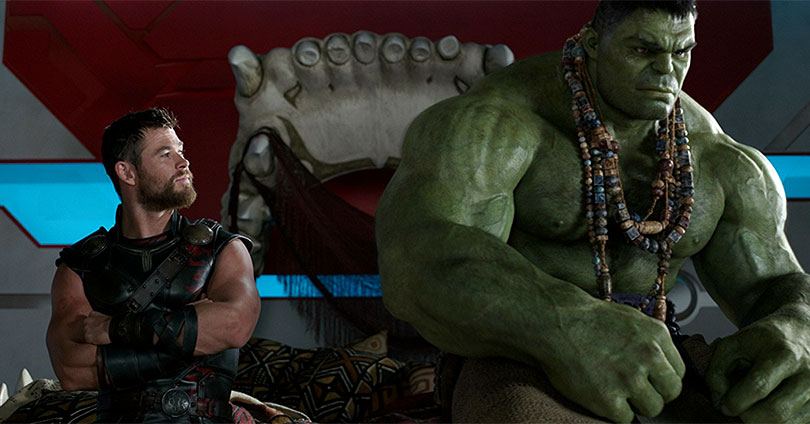 Thor: Ragnarok - Chris Hemsworth and Mark Ruffalo