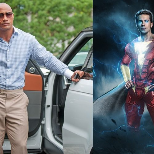 Dwayne Johnson to executive produce Shazam!