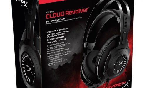 HyperX Cloud Revolver Gunmetal joins the Cloud Revolver family