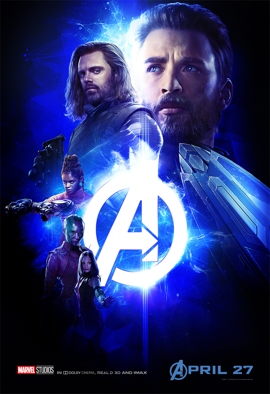 Avengers Infinity War Group Posters Show Off Colors Of