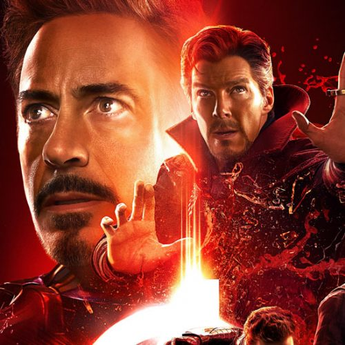 Avengers: Infinity War group posters show off colors of Infinity Stones