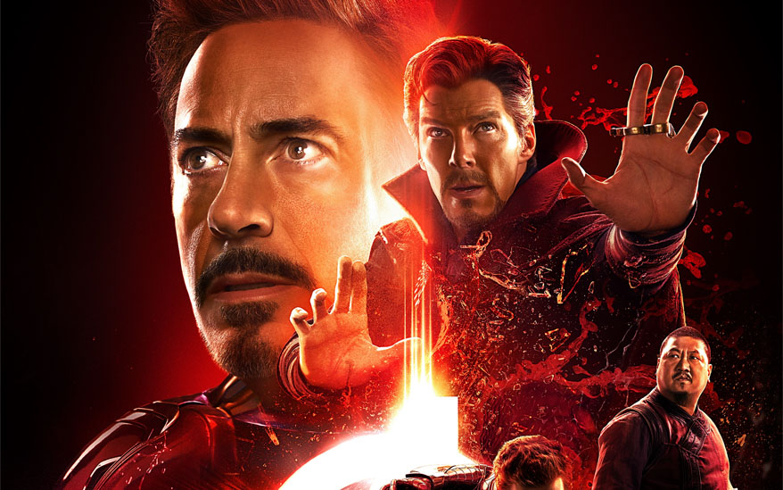Avengers: Infinity War Group Posters Show Off Colors Of