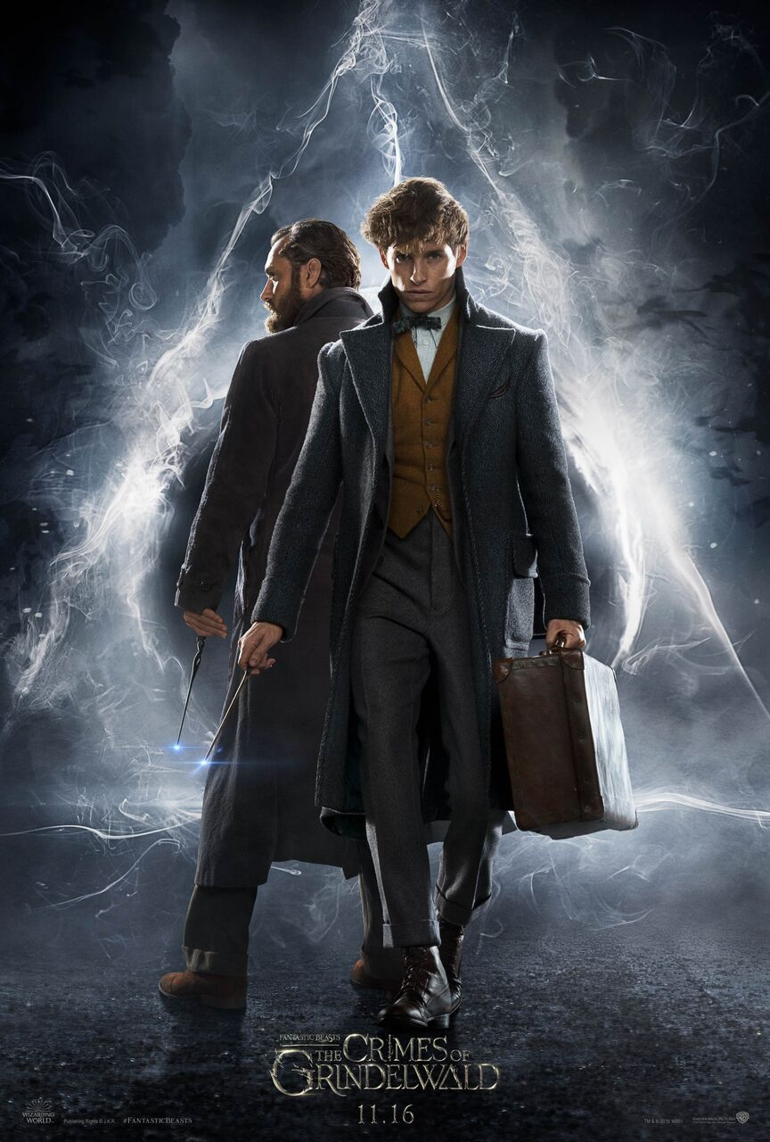 Fantastic Beasts: The Crimes of Grindelwald Poster #1