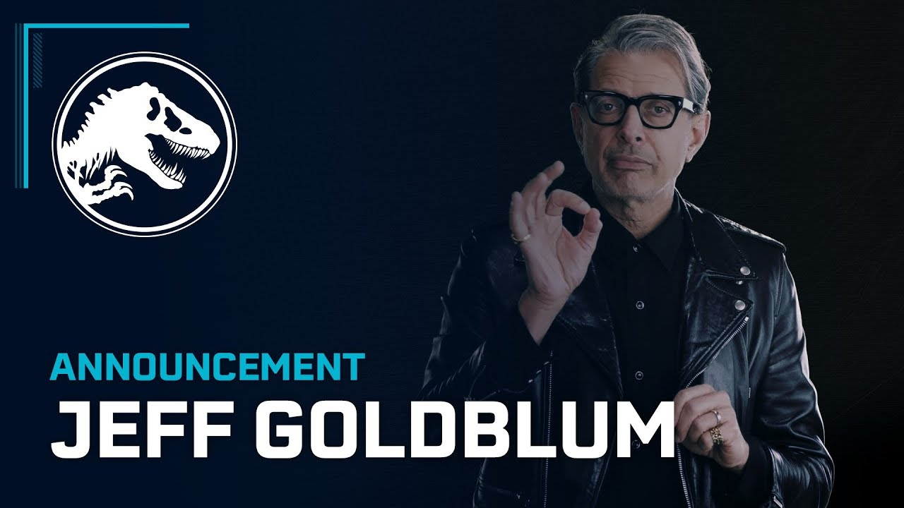 Jeff Goldblum is on board for Jurassic World Evolution