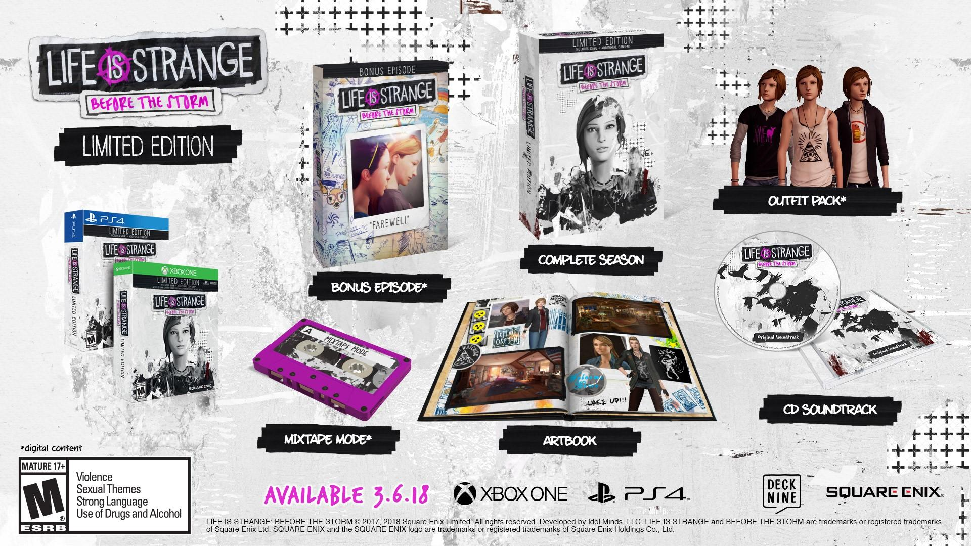 Life Is Strange: Before the Storm (Vinyl Edition)