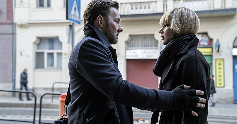 Red Sparrow - Joel Edgerton and Jennifer Lawrence