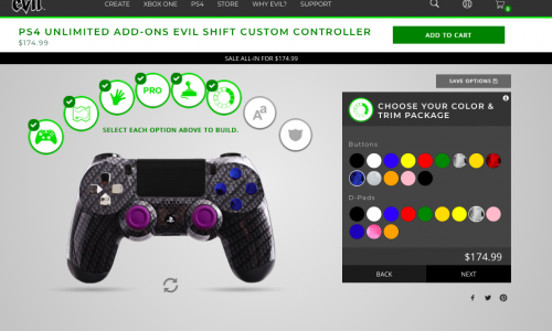 Evil Shift Controller now customizable while giving gamers competitive edge