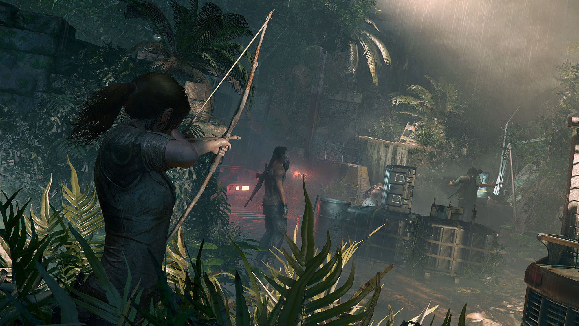 Shadows of the Tomb Raider jungle stealth