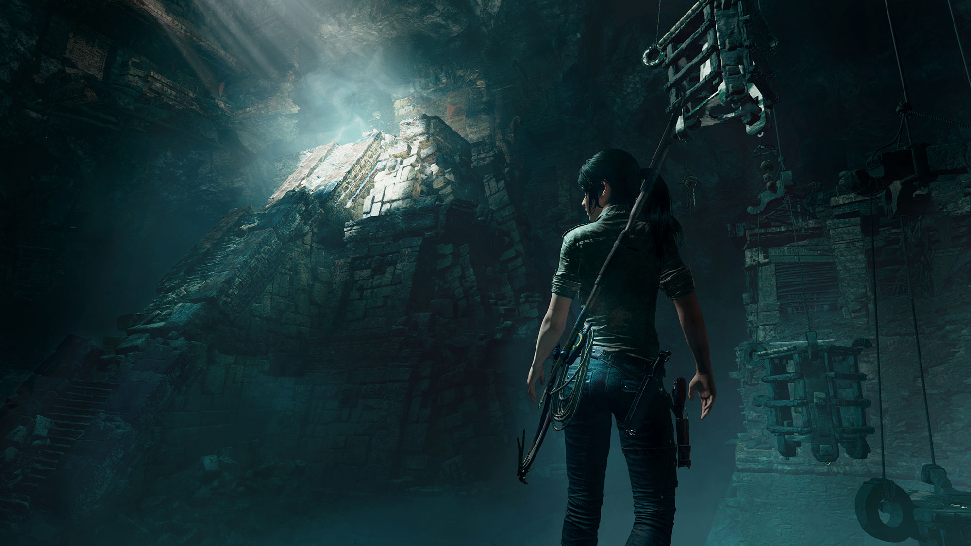 Shadows of the Tomb Raider ruin