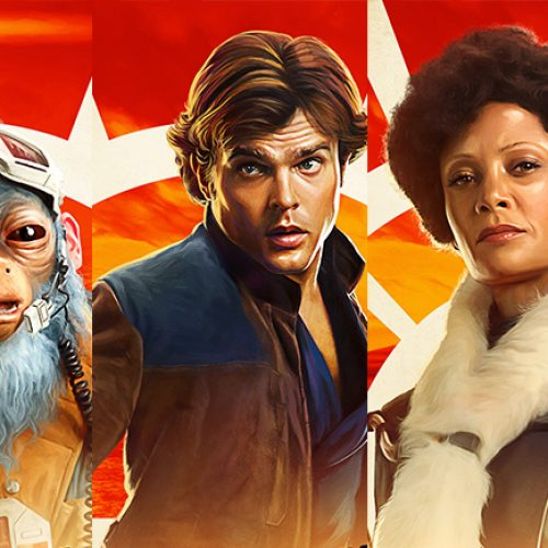 9 new Solo: A Star Wars Story character posters include Thandie Newton and Paul Bettany