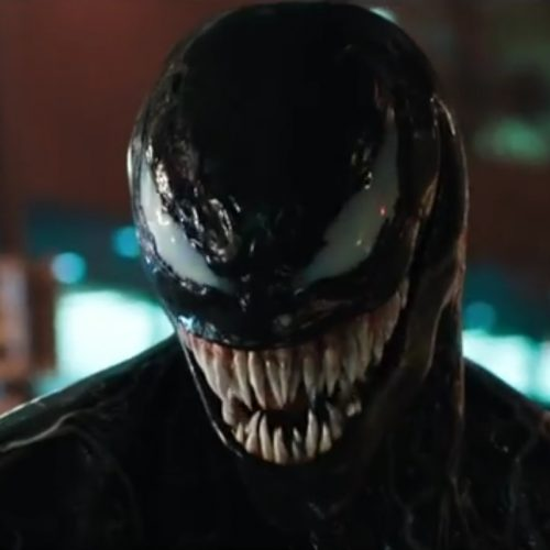 Venom trailer released complete with sharp teeth and long tongue