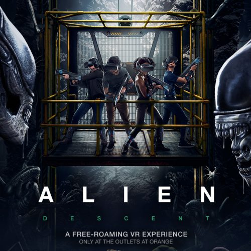 Kill Xenomorphs in Alien: Descent, a free-roaming VR 4D experience